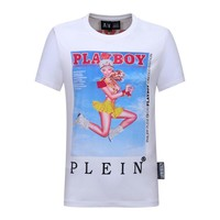 Philipp Plein Fashion White T-Shirt Top Tee