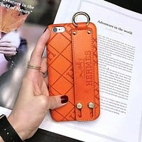 Hermes Fashion iPhone Phone Cover Case For iphone 6 6s 6plus 6s-plus 7 7plus 8 8plus X