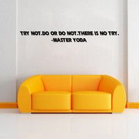 Stylish Star Wars Wall Sticker (58*6.3cm) = 4149950724