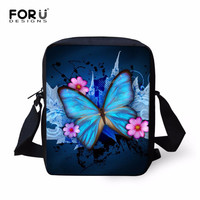 Women Messenger Bags Famous Brand Small Women's Tote Bag 3D Painting Animal Butterfly Print Cross Body Bag Travel Shoulder Bags