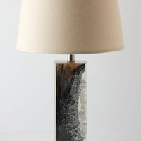 Scorched Timber Lamp Base by Anthropologie Brown Motif One Size Lighting