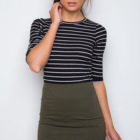 One Dance Skirt - Olive