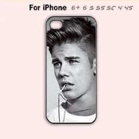 Justin Bieber Signature Phone Case For iPhone 6 Plus For iPhone 6 For iPhone 5/5S For iPhone 4/4S For iPhone 5C-5 Colors Available