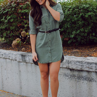 Cargo Cutie Shirt Dress