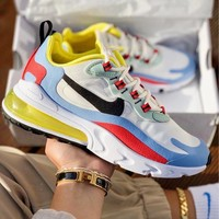 Nike Air Max 270 React Trending Women Leisure Running Sport Shoes Sneakers