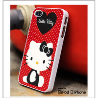 Hello Kitty Pose iPhone 4s iPhone 5 iPhone 5s iPhone 6 case, Galaxy S3 Galaxy S4 Galaxy S5 Note 3 Note 4 case, iPod 4 5 Case