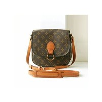 auth Louis Vuitton Monogram st.cloud shoulder bag vintage authentic rare purse w.germa