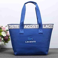 Lacoste Women Fashion Shopping Bag Handbag Tote Shoulder Bag