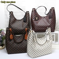 LV Hot Selling Ladies'Style Shopping Bags with Colour-Coloured One-Shoulder Bags