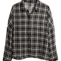 Wide blouse - from H&M