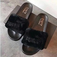 Rihanna x Puma Leadcat Fenty Women Fashion Slipper Flats Shoes