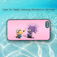 minions iphone 5 case, Despicable me 2,iphone 4 case, ipod case,ipod 5,note 2 case,Samsung galaxy S3, Samsung galaxy S4, blackberry q10, z10