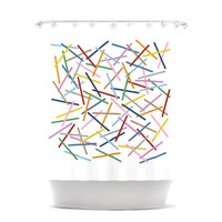 "Project M ""Sprinkles"" Shower Curtain"