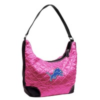 Detroit Lions NFL Quilted Hobo
