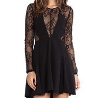 Style Stalker Hold My Hand Dress in Black