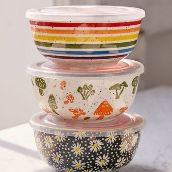 UO Essential Printed Bowl   Urban Outfitters