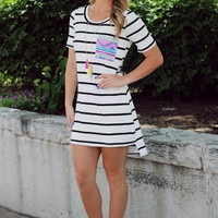 In the Mix T-shirt Dress