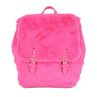 Faux Furry Mini Wonder Backpack