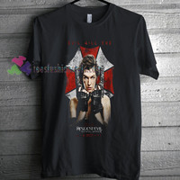 Resident Evil The Final Chapter T-shirt gift Tees adult unisex custom clothing
