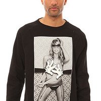 Heist and Co The Hands On Crewneck in Black