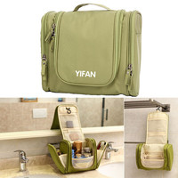 Travel Toiletry Wash Cosmetic Bag Makeup Storage Case Hanging Grooming