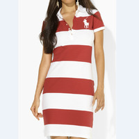 Trendsetter POLO Women Casual Bodycon Mini Dress
