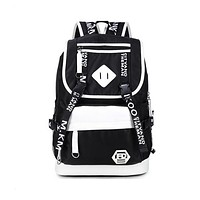 School Backpack teen school bags for boys black large  usb bag pack male waterproof laptop backpack boy computer bag schoolbag AT_48_3