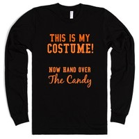 Hand Over the Candy-Unisex Black T-Shirt