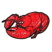 Lobster Large Chenille Patch (Limited Edition)