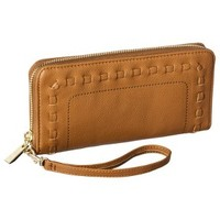 Merona® Solid Cell Phone Case Wallet with Removable Wristlet Strap - Brown