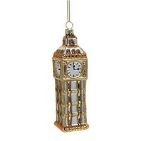 Gold Tower Hanging Ornament