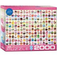 Cupcakes Galore - 2000 Piece Jigsaw Puzzle