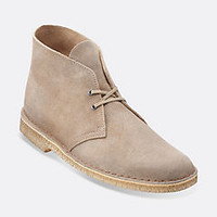 Desert Boot Taupe Distressed Suede - Clarks Mens Shoes - Lace-ups and Slip-ons - Clarks - Clarks® Shoes