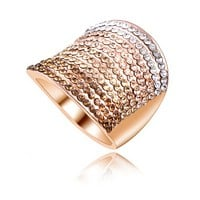 The new ring multi-color diamond ring with ring tone wide ring, ring, ring and ring
