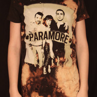 Distressed/Bleached Paramore Band Tee