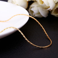 """18"""" Gold Hard Thick Chain"""