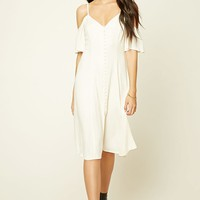 Contemporary Button-Front Dress