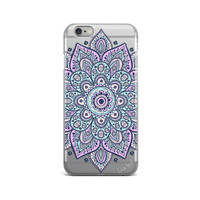 Dakota Mandala clear iphone case,mandala clear iphone 6s case,mandala clear iphone 6 case,iphone 5 case,clear iphone case,clear iphone cases