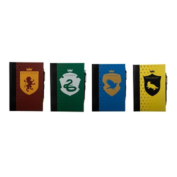 Harry Potter House Journals with Pen