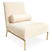 Astor Slipper Chair | Modern Furniture | Jonathan Adler