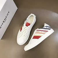 GIVENCH*  Men Fashion Boots fashionable Casual leather Breathable Sneakers Running Shoes0406ff