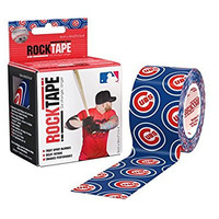 RockTape Major League Baseball Kinesiology Tape for Athletes (2-Inch x 16.4-Feet) Chicago Cubs