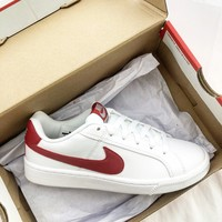Nike Court Royale White/Red Sneaker