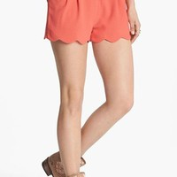 Lush Scalloped Lace Shorts (Juniors) (Online Exclusive)   Nordstrom