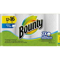 Walmart: Bounty Select-A-Size Paper Towels, 12 count