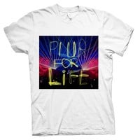 PLUR For Life T-Shirt - Rave T-Shirts