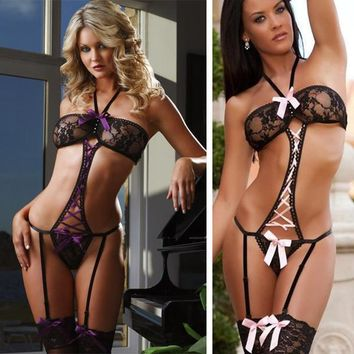 Cute On Sale Hot Deal Sexy Plus Size One-piece Exotic Lingerie [6595763651]