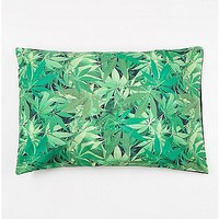 Leaf Allover Print Pillow Case - Spencer's