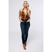 Care For You Lace Bodysuit (Eggplant/Mustard)