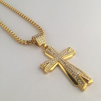 New Arrival Gift Jewelry Shiny Stylish Hot Sale Fashion Hip-hop Club Necklace [6542784835]